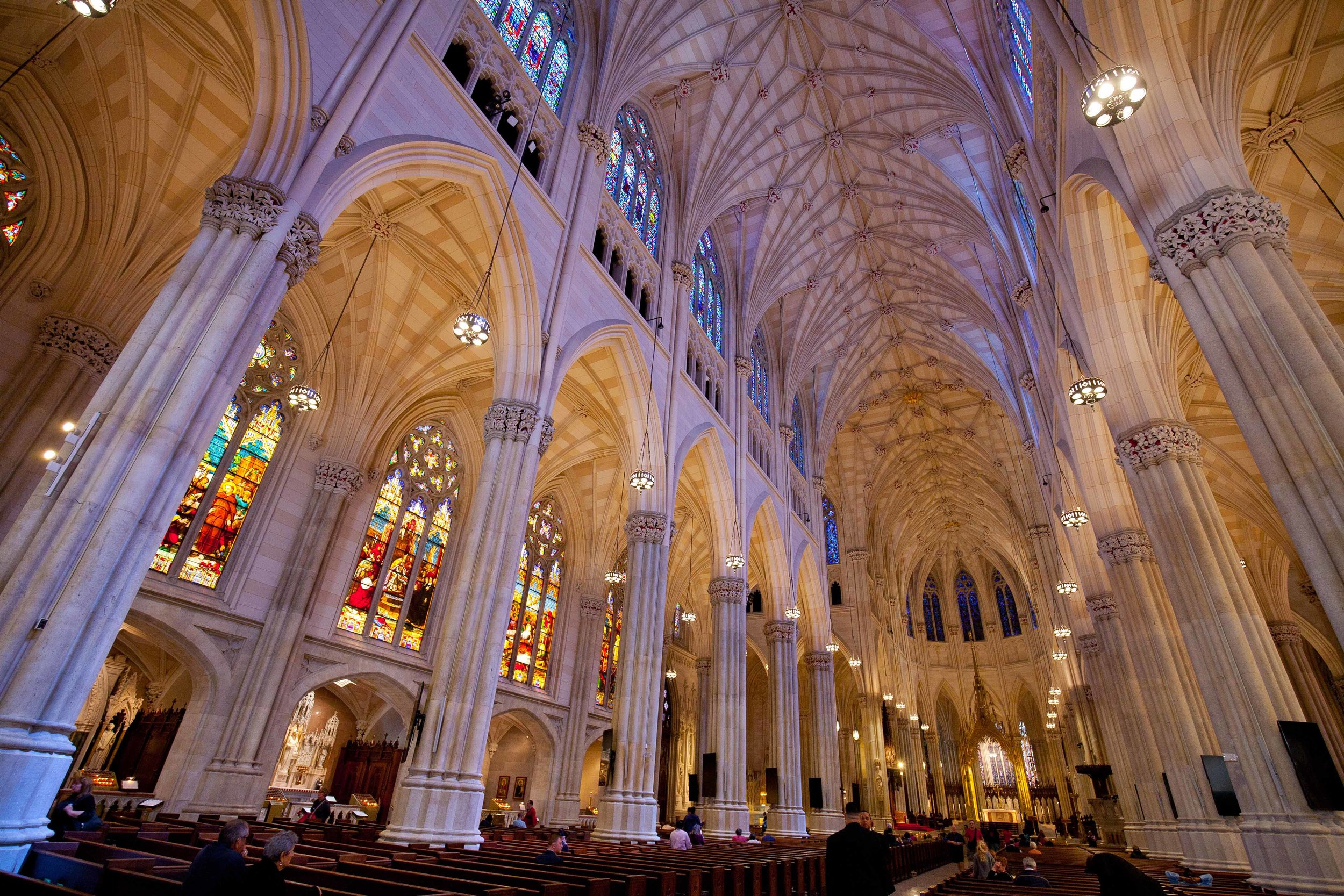 Interior of St. Patrick's Cathedral - New York City 2016