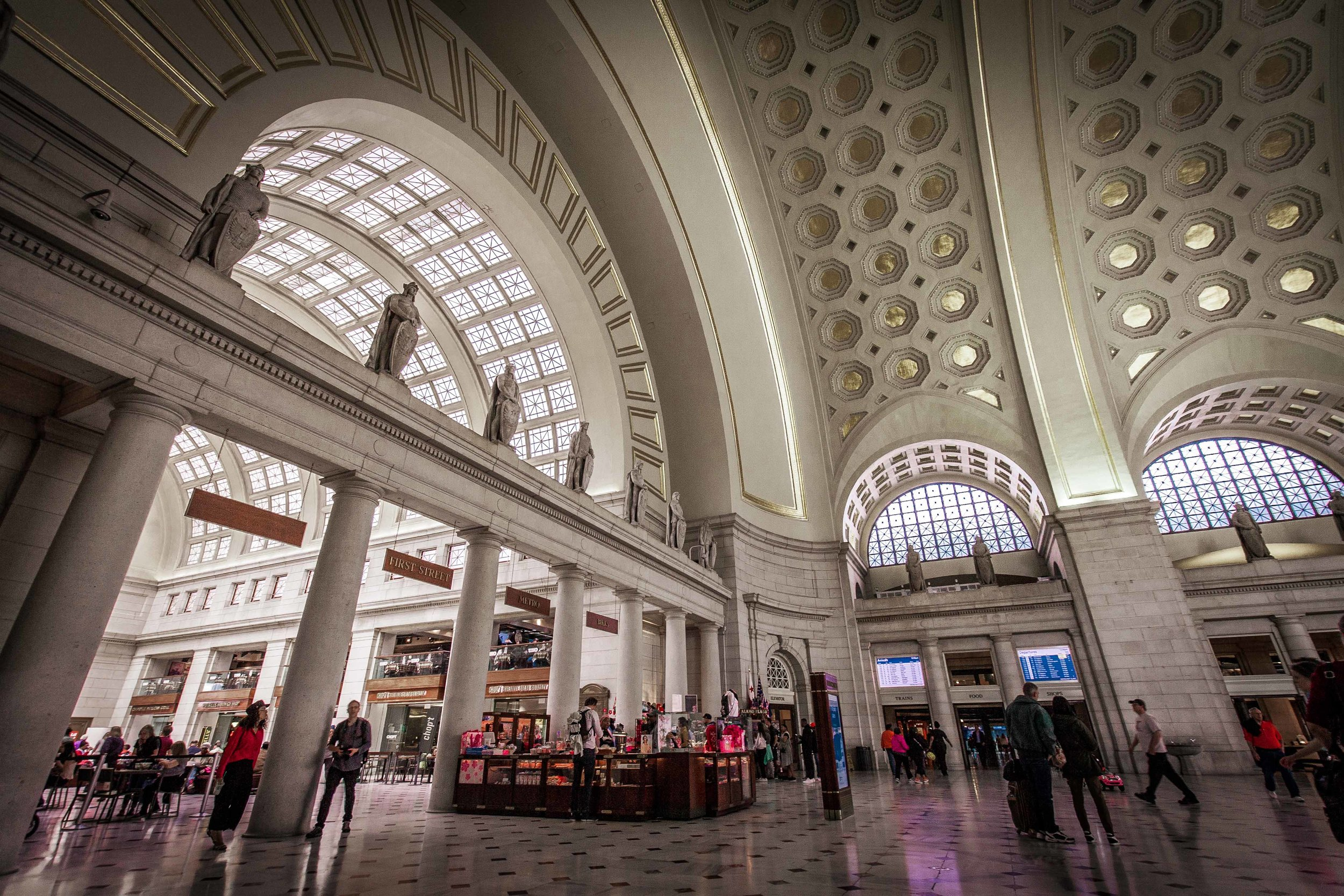 Main Lobby of Union Station - Washington D.C. 2017