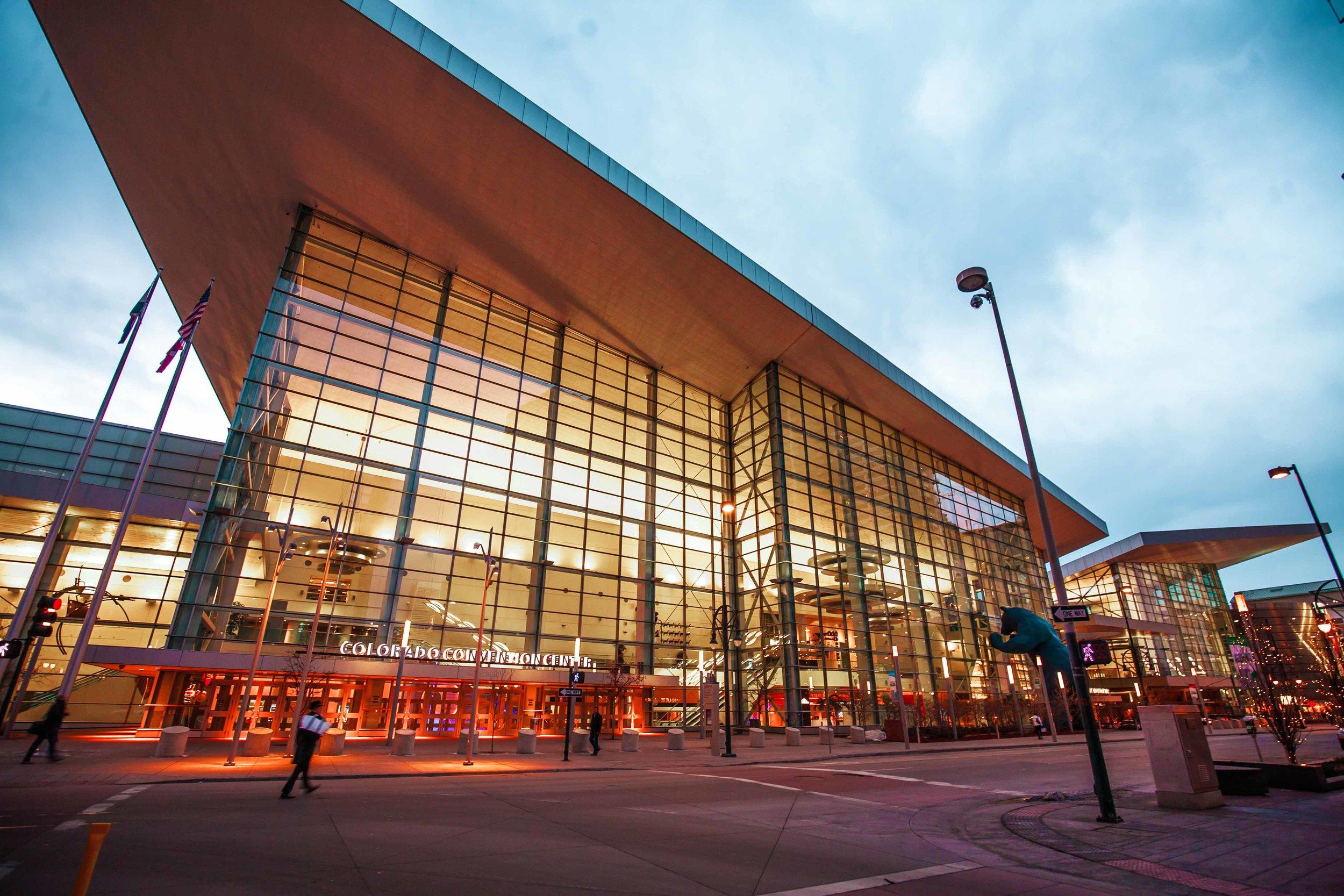 Convention Center at the Blue Hour - Denver 2017