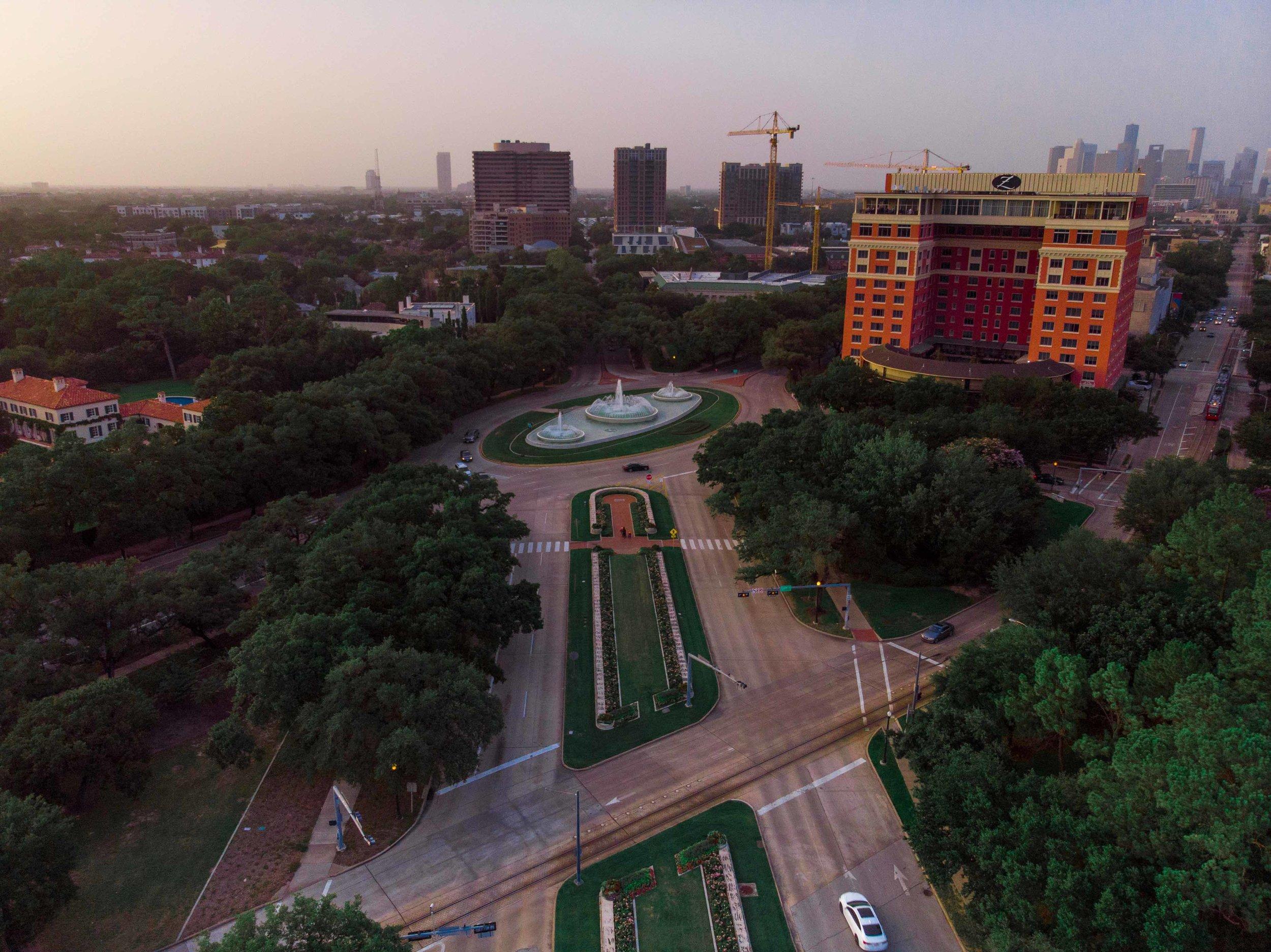 Houston Museum District @ dusk | 2018