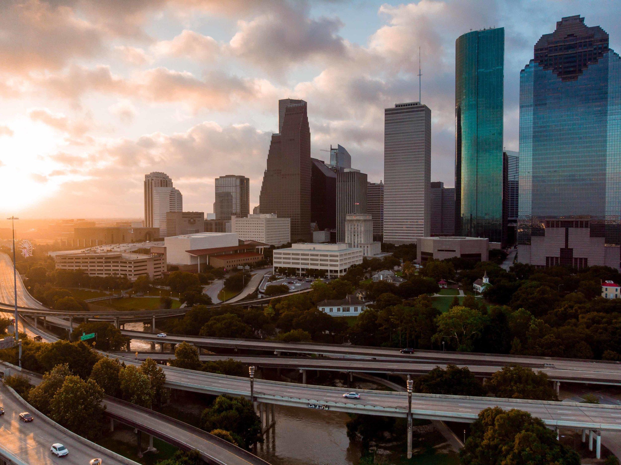 The Face of the Houston Skyline @ Dawn | 2018