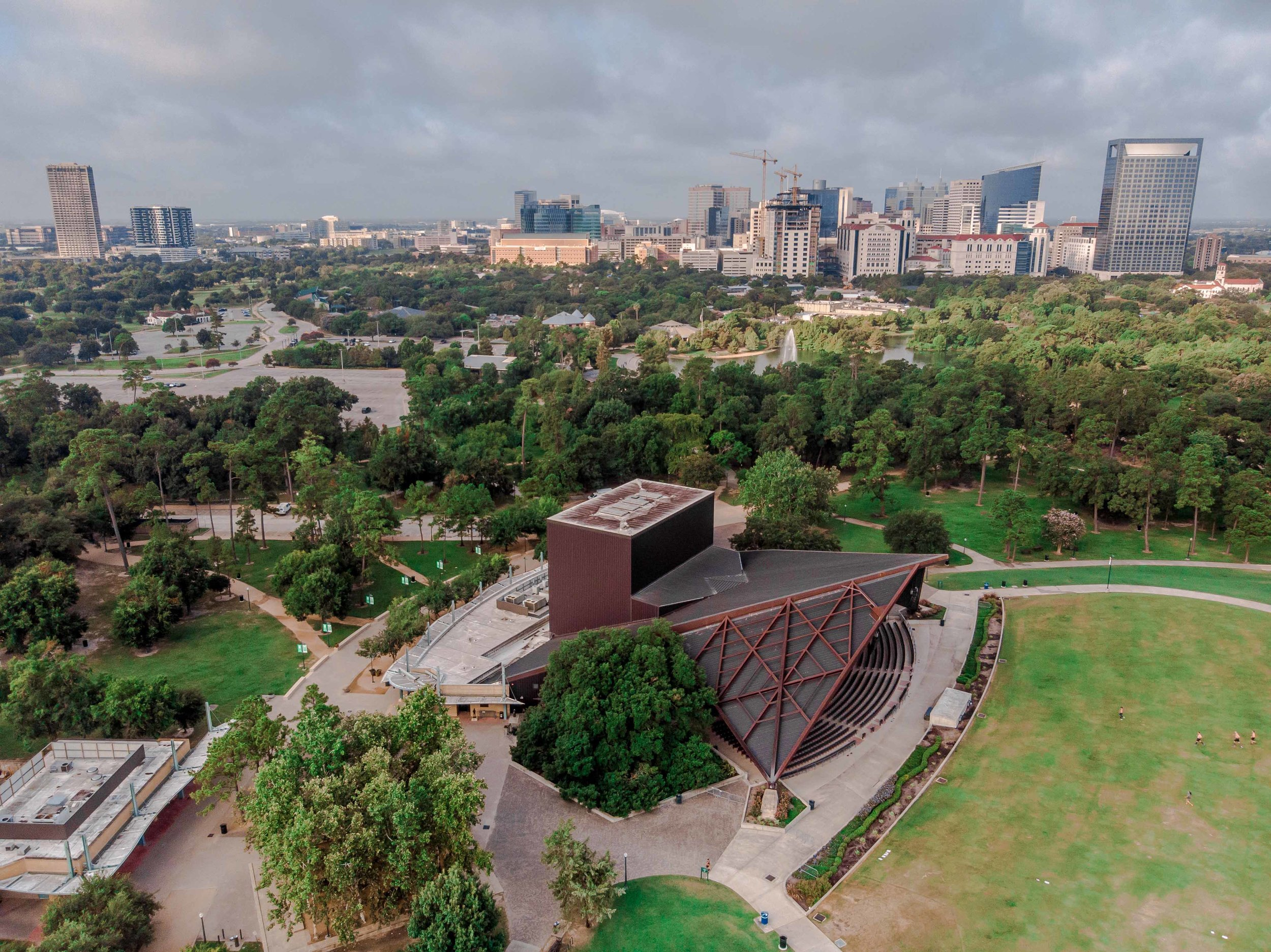 Looking South Towards the TMC from Hermann Park - Houston, TX | 2018