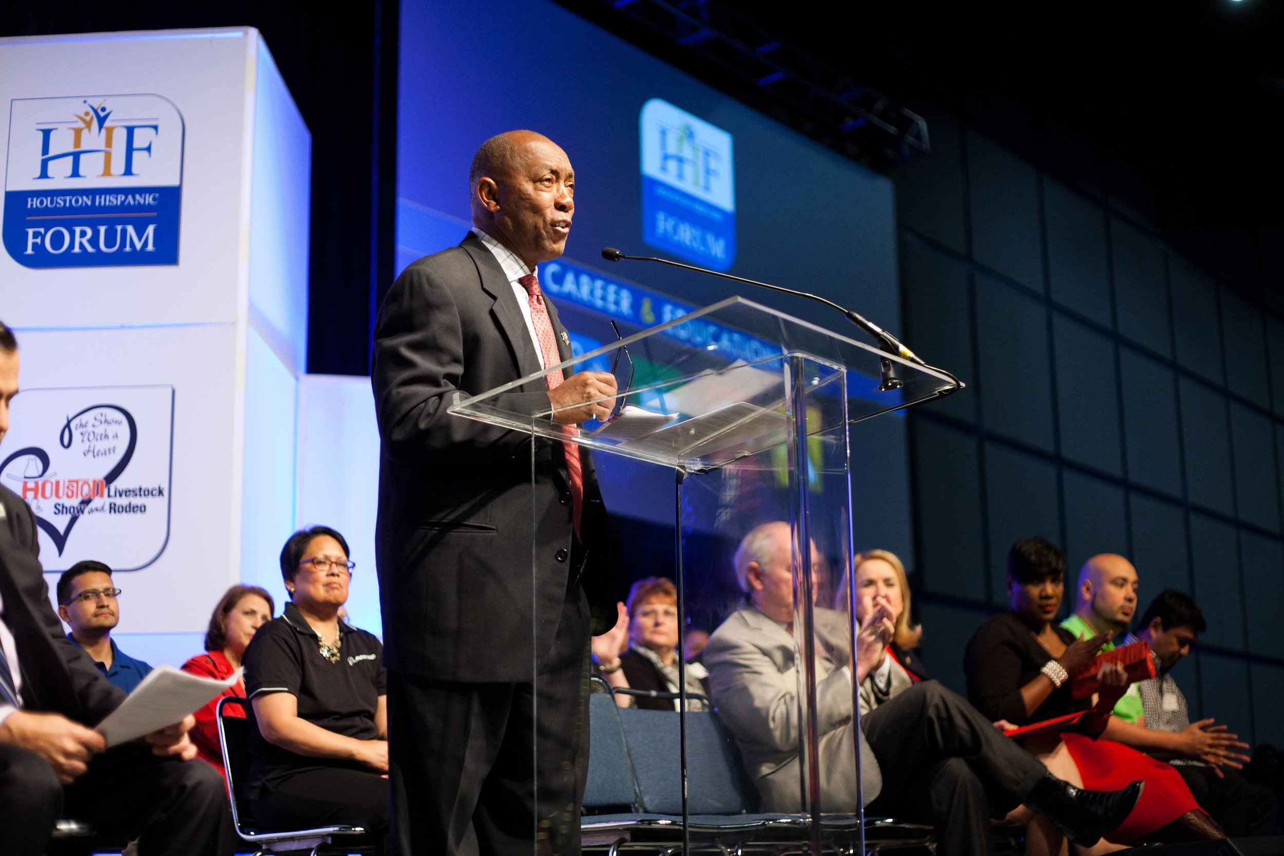 Houston Mayor Sylvester Turner as the Keynote Speaker for HHF Career & Education Day | 2016