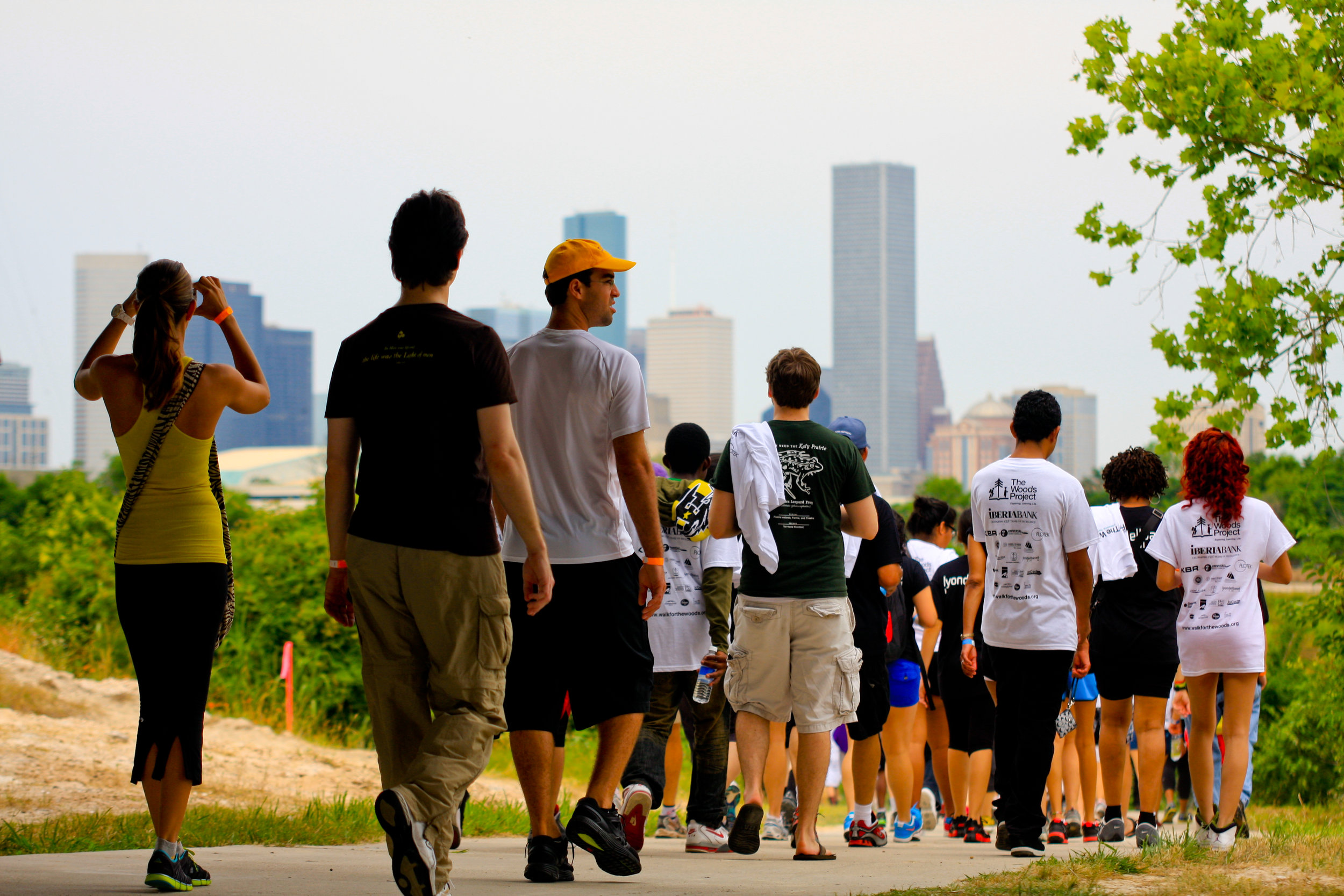 Kids Participating in the Walk for the Woods Event | The Woods Project | 2012