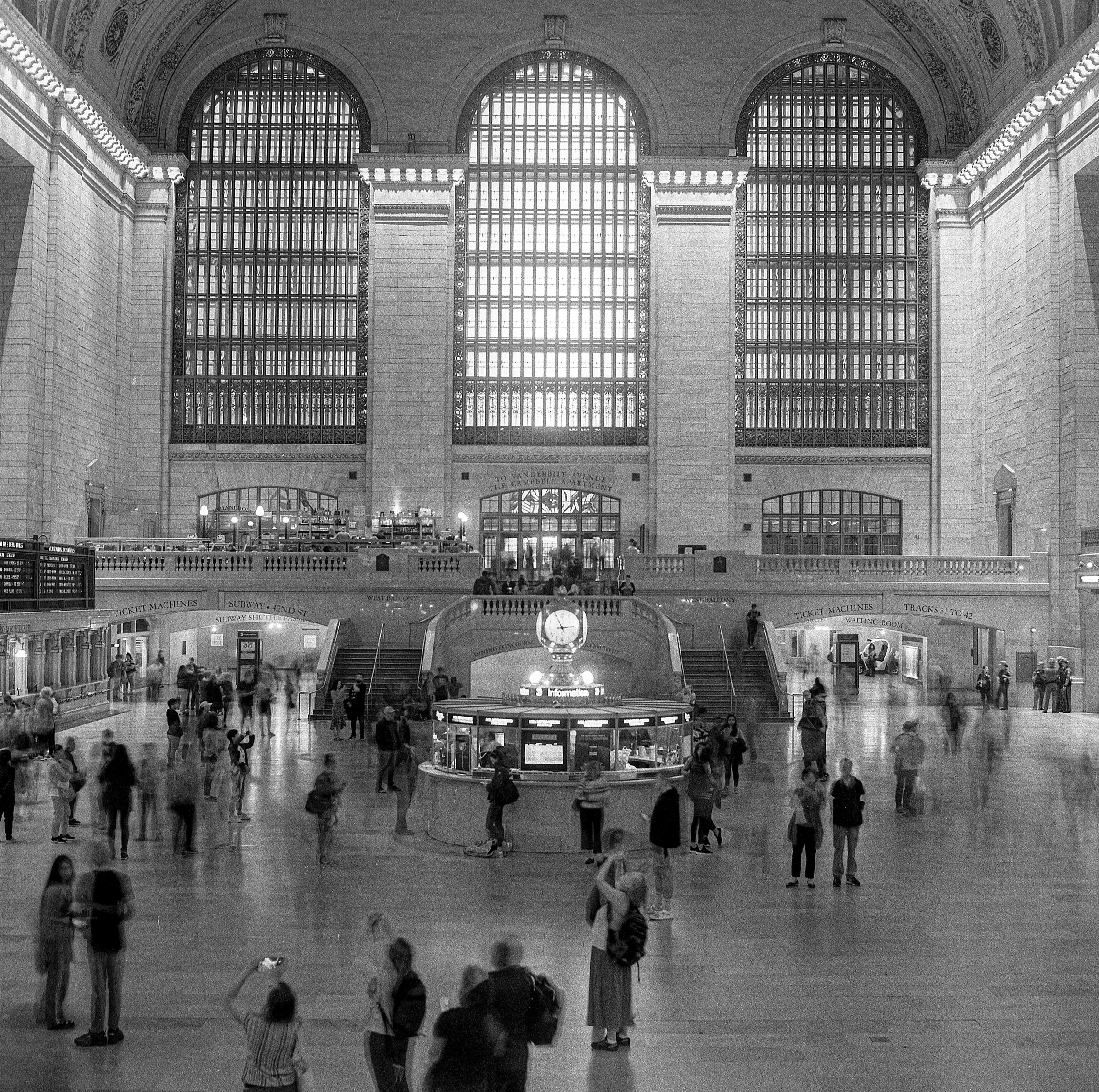 Quiet hour in Grand Central Terminal, New York City | 2019