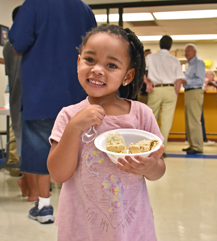 Kids selected their favorite flavors at the Epworth Ice Cream launch party hosted by Epworth Children's Home on July 19, 2018.