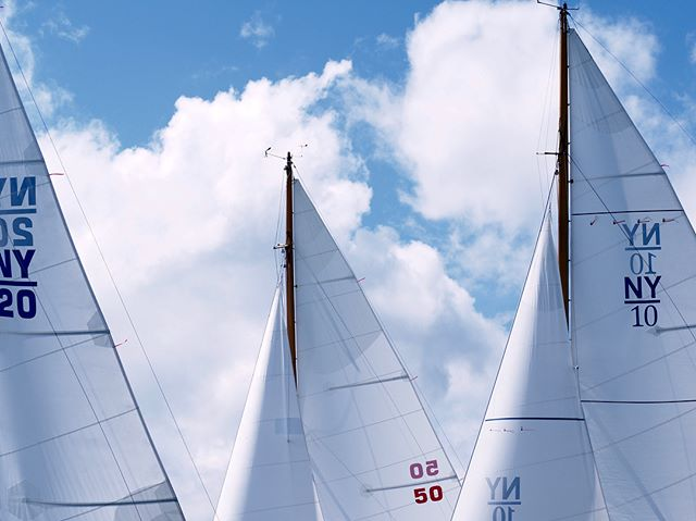 A peek into the Classic Yacht Race from Castine to Camden, 2018!