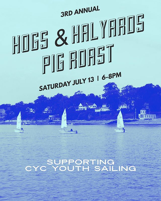 Stop scrolling now and join us to see large adults fit into little boats followed by a pig roast! Adult opti race at 5:15, Pig Roast at 6! BYOB; mixers provided. Sign up on website at link in bio. ⛵️⚓️🐷 #castine #youthsailing #castineyachtclub #adulthumility