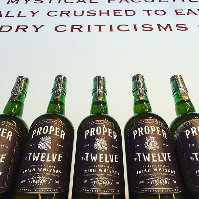@properwhiskey now available. @thenotoriousmma - - - - #connormcgregor #whiskey #irish #irishwhiskey #ufc #ireland #liquor #ufcfighter #mcgregor #austin #texas #atx #acl #aclfest #12 #propertwelve #propertwelveirishwhiskey