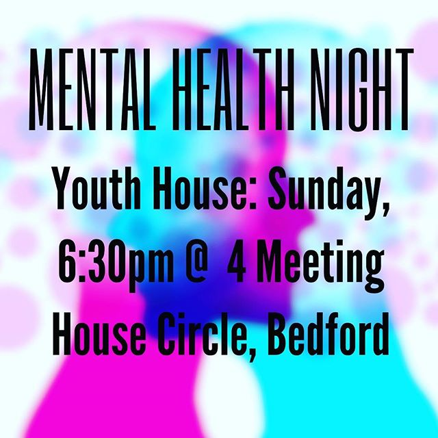 Don't miss a very special night at Youth House this Sunday! Get real answers on how to help others and help yourself. 🧠👍🏼