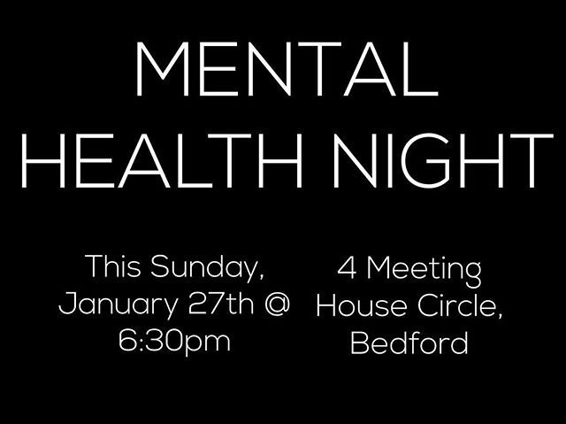 Alright guys, IT'S HAPPENING! Our Mental Health Night is right around the corner. Again, it's not some boring meeting to just talk about the the science of the brain. It is going to be interactive, very informative, and FUN. Please stop by!!