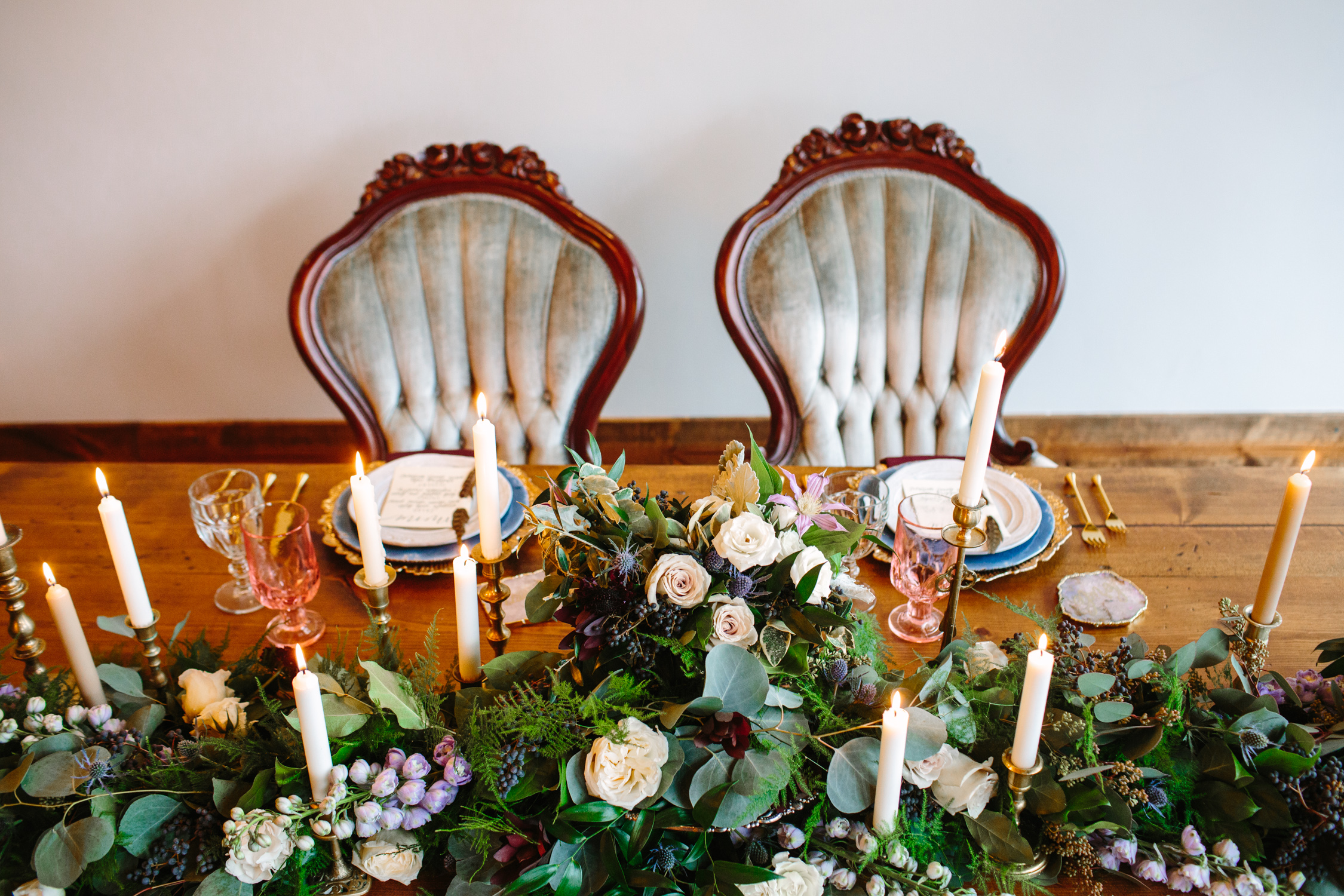 Knoxville Wedding Venue // Modern Bohemian Style Reception