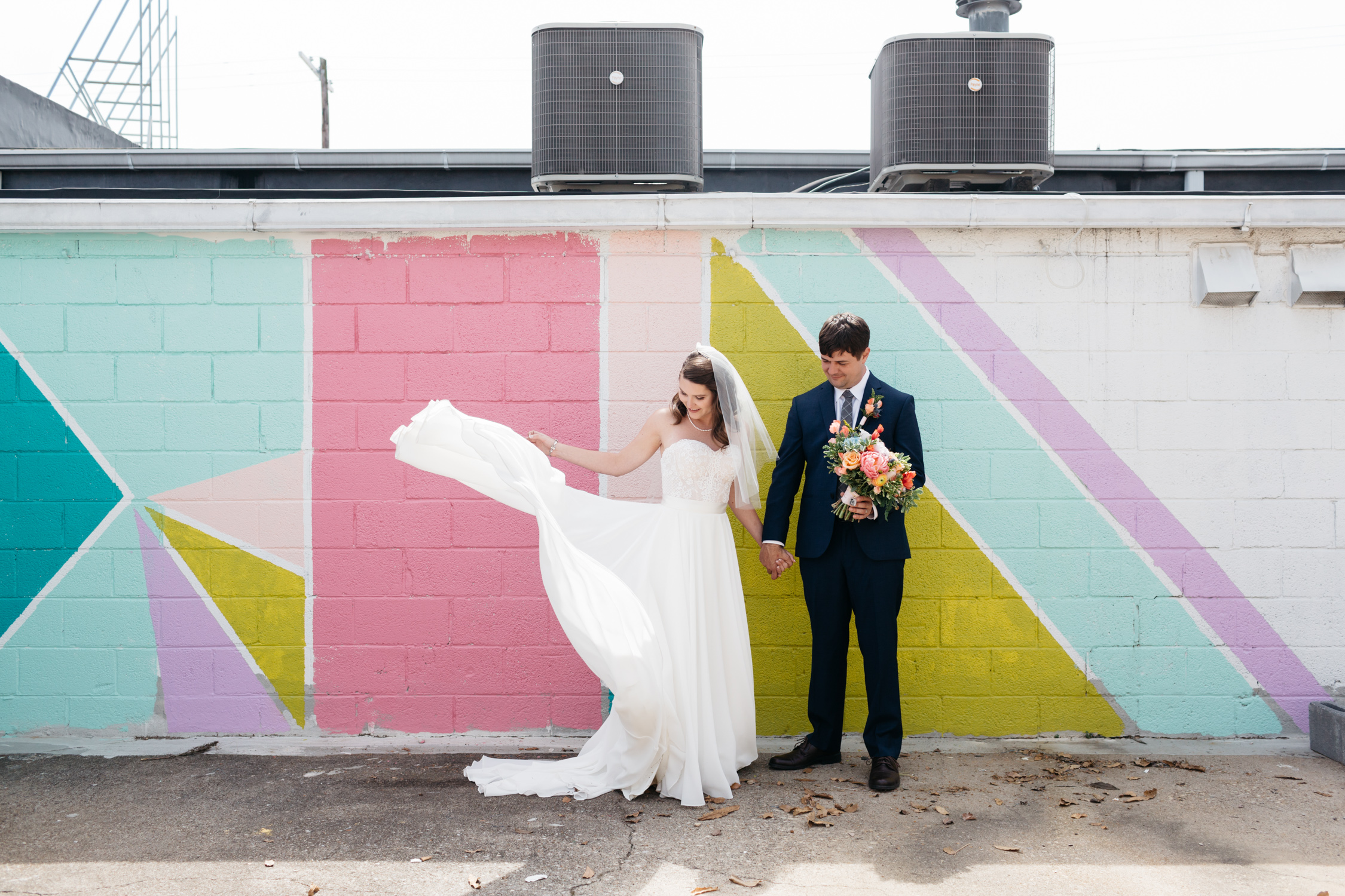 Standard Downtown Knoxville Wedding Venue Central Avenue Happy Holler The Hive Mural