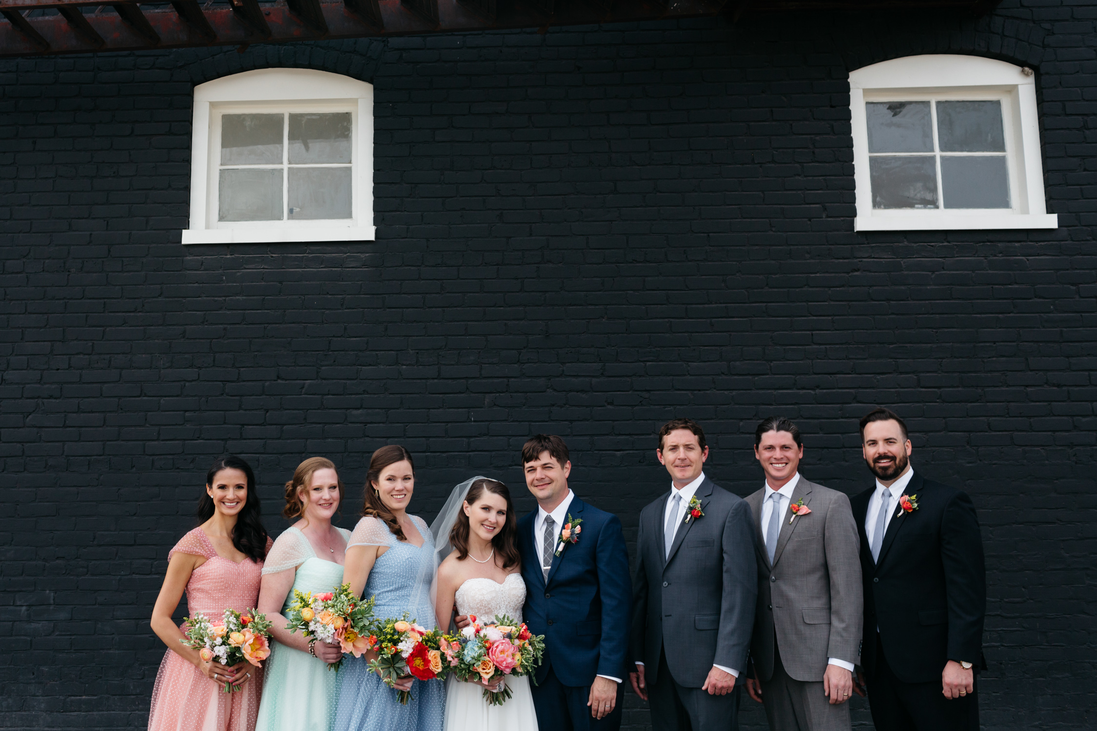Standard Downtown Knoxville Wedding Venue Central Avenue Happy Holler Bridal Party
