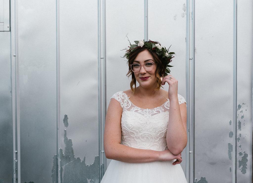 Standard Downtown Knoxville Wedding Venue Bridal Portrait