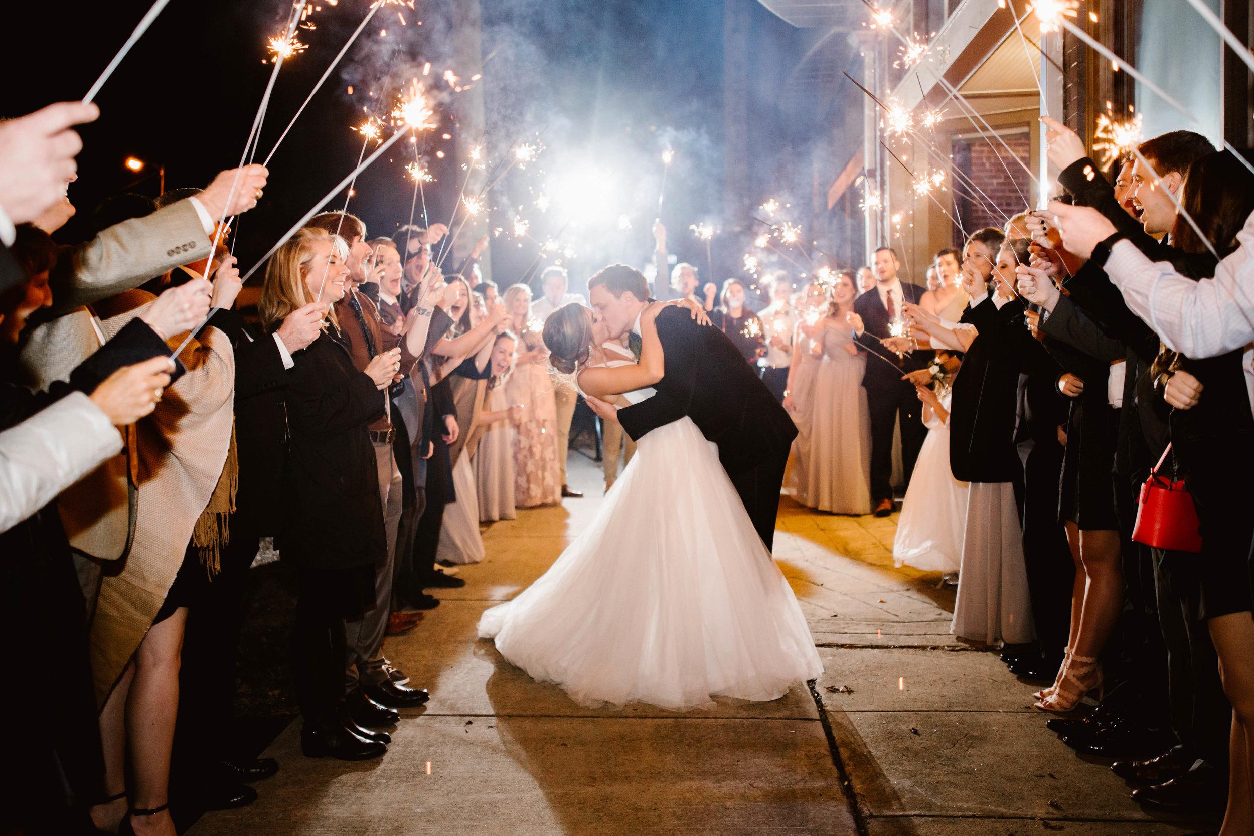 Downtown Knoxville Wedding Venue // Green & White Wedding