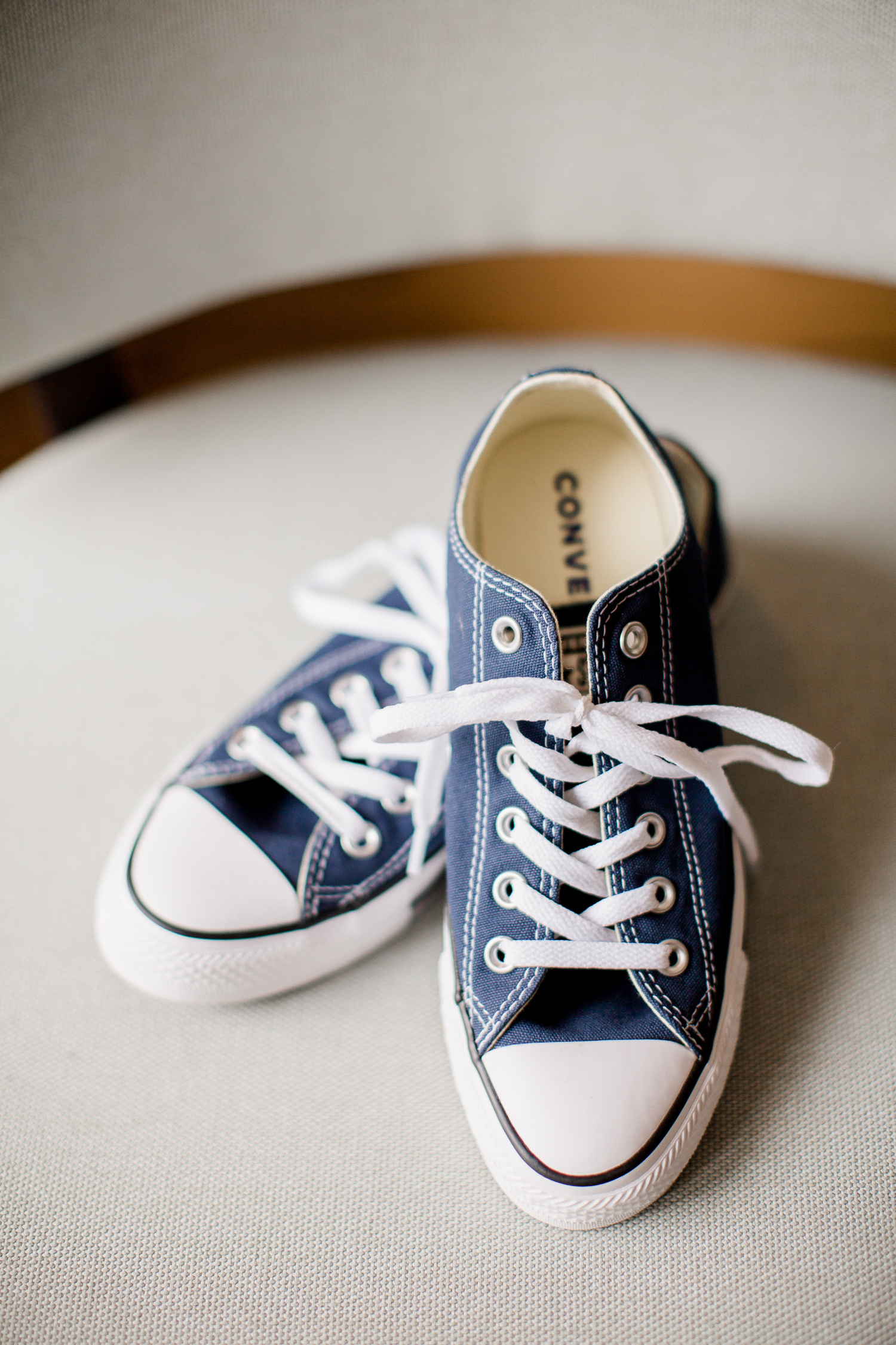 Downtown Knoxville Wedding Venue // Central Avenue Reception // Converse Wedding Shoes