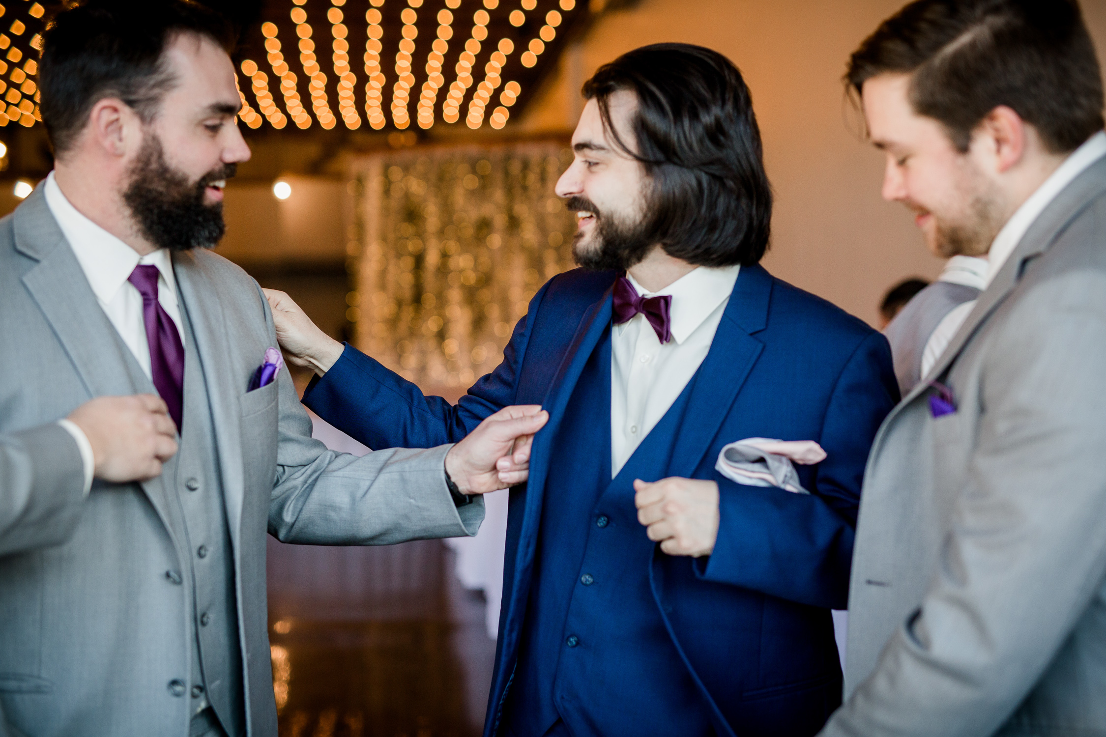 Downtown Knoxville Wedding Venue // Central Avenue Reception // Groomsmen Getting Ready