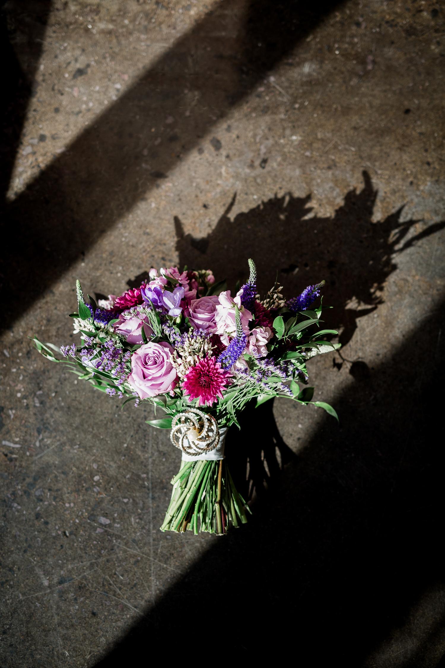 Downtown Knoxville Wedding Venue // Central Avenue Reception // Relix Floral Bouquet