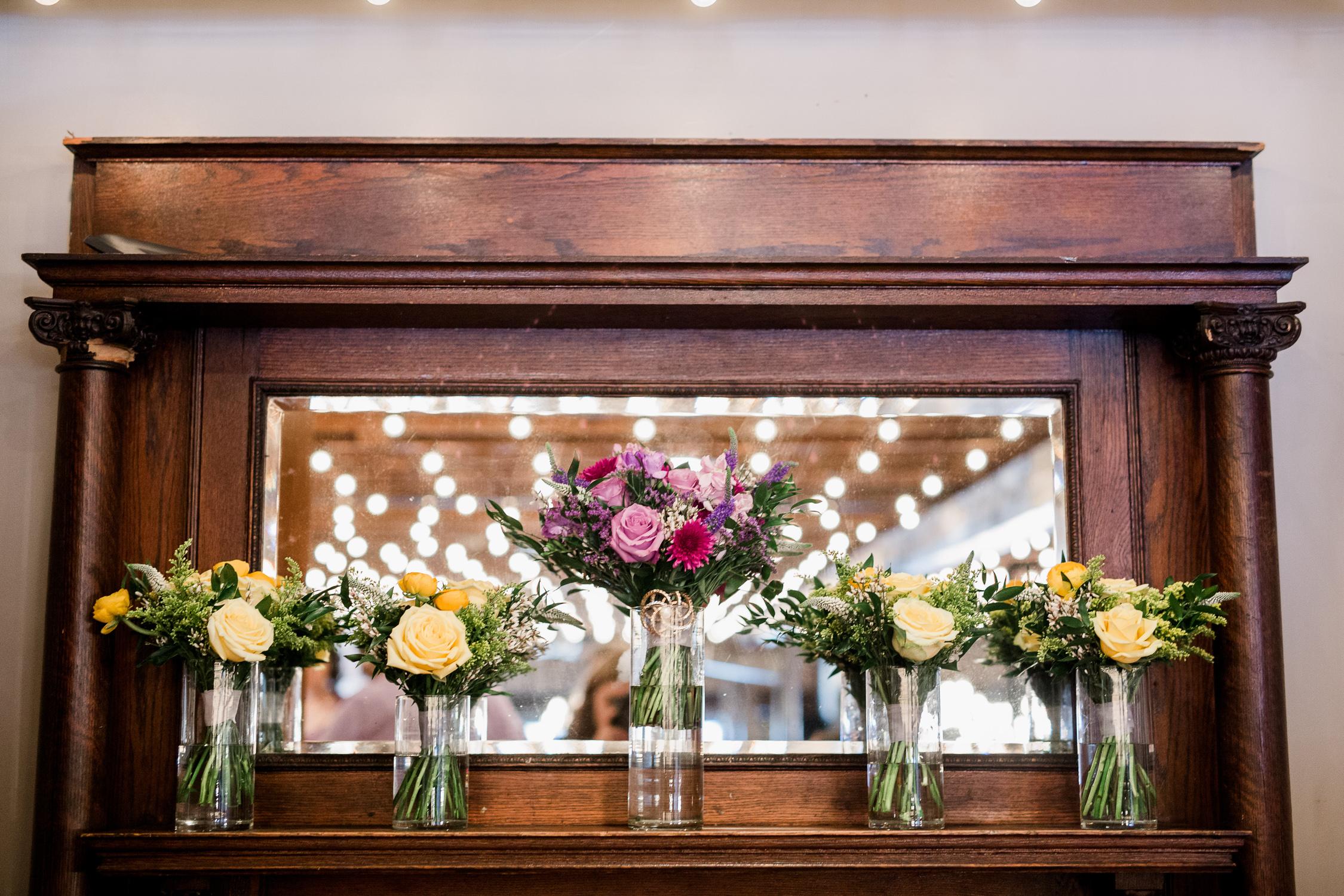 Downtown Knoxville Wedding Venue // Central Avenue Reception // Relix Floral Bouquets
