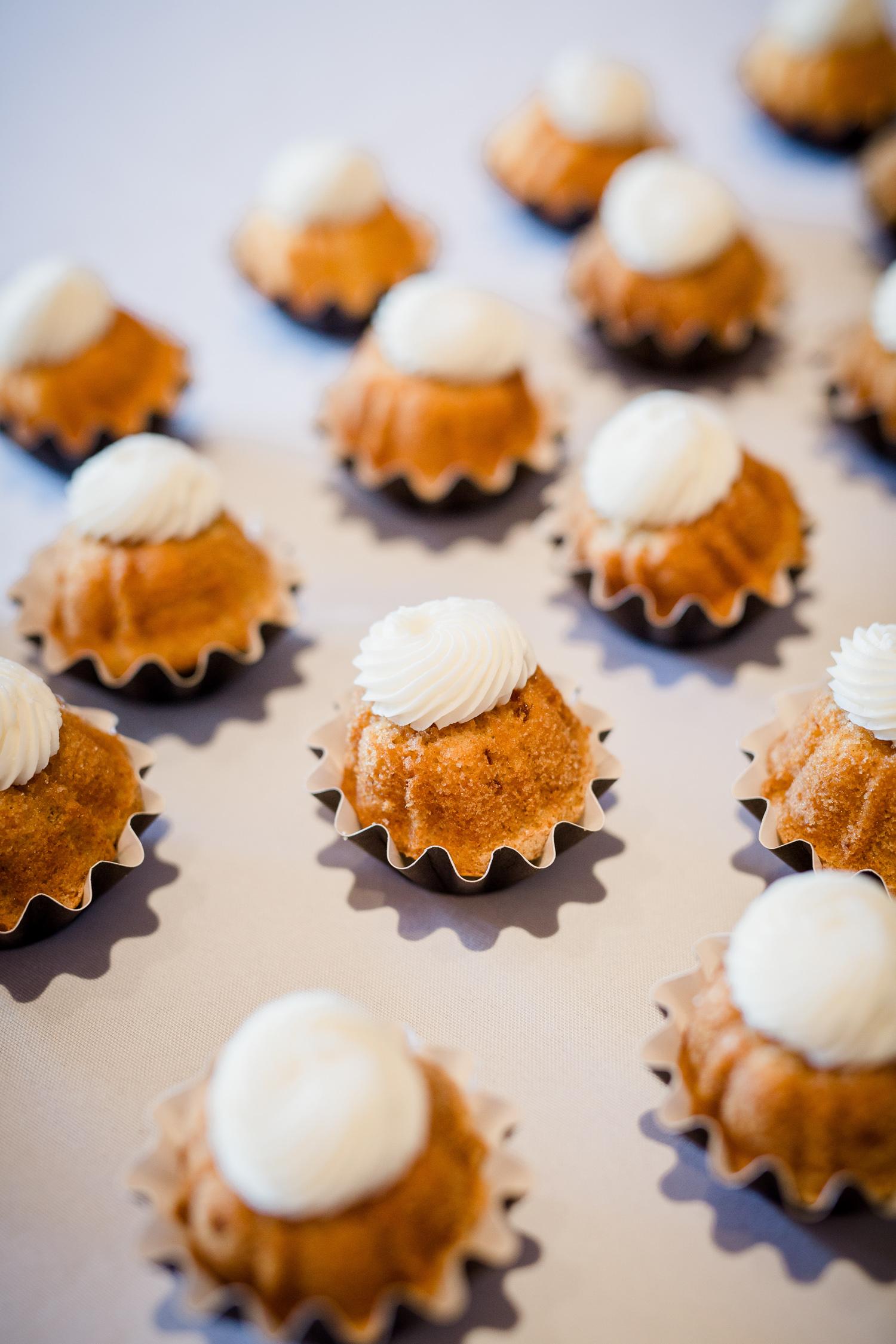 Downtown Knoxville Wedding Venue // Central Avenue Reception // Bridesmaids // Nothing Bundt Cakes