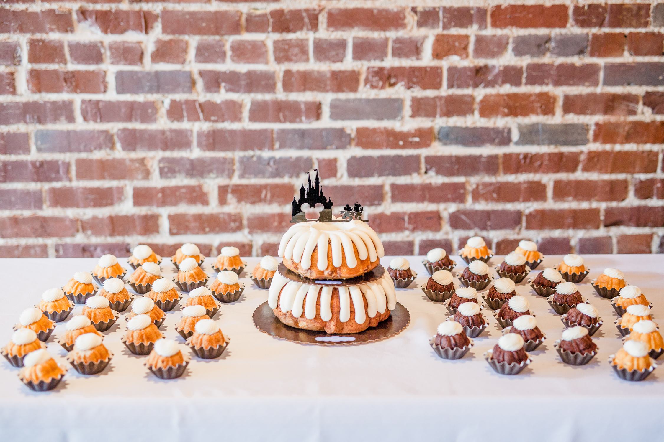 Downtown Knoxville Wedding Venue // Central Avenue Reception // Bridesmaids // Nothing Bundt Cakes