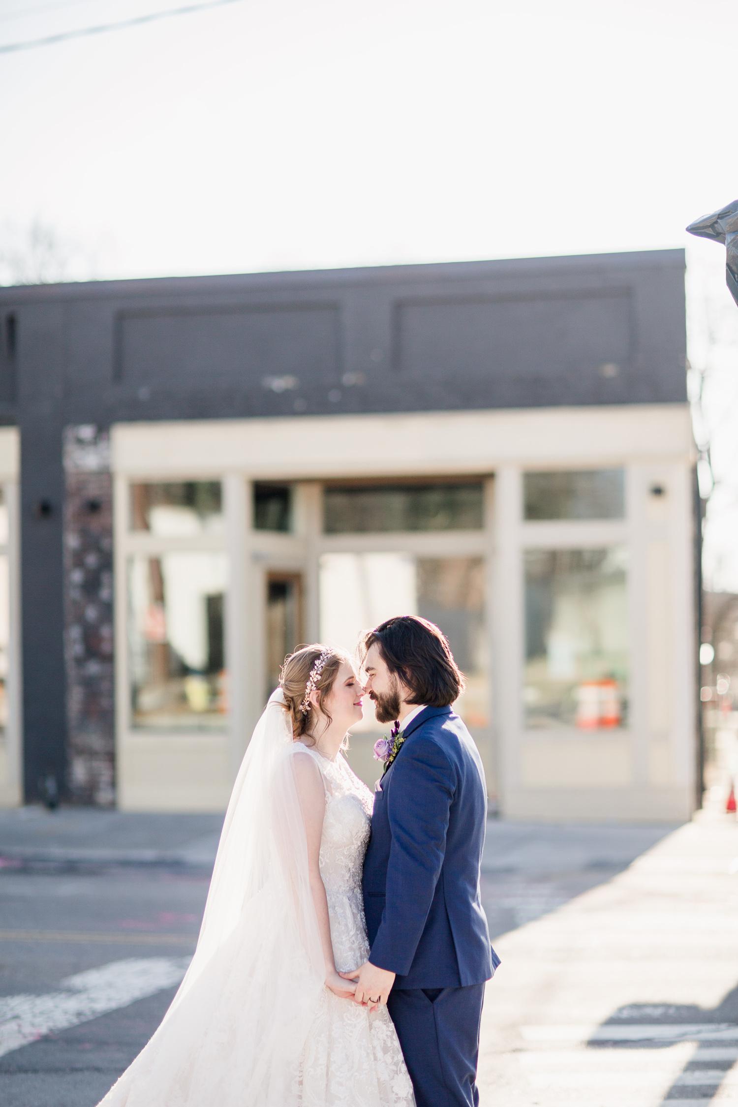 Downtown Knoxville Wedding Venue // Central Avenue Reception // Bridesmaids // Bride & Groom Portraits