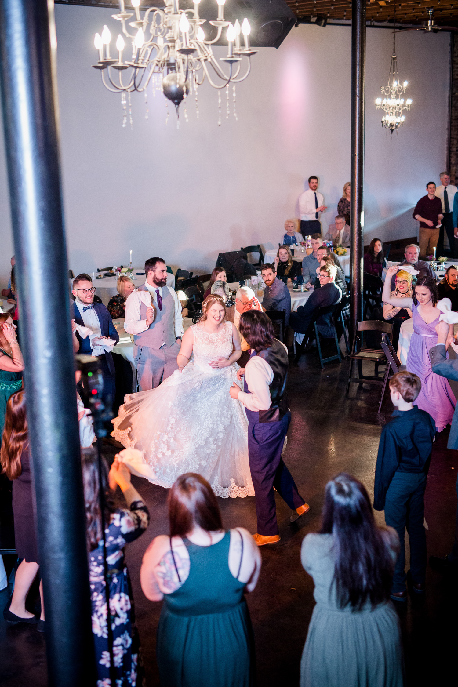 Downtown Knoxville Wedding Venue // Central Avenue Reception //  DancingDowntown Knoxville Wedding Venue // Central Avenue Reception //  Dancing