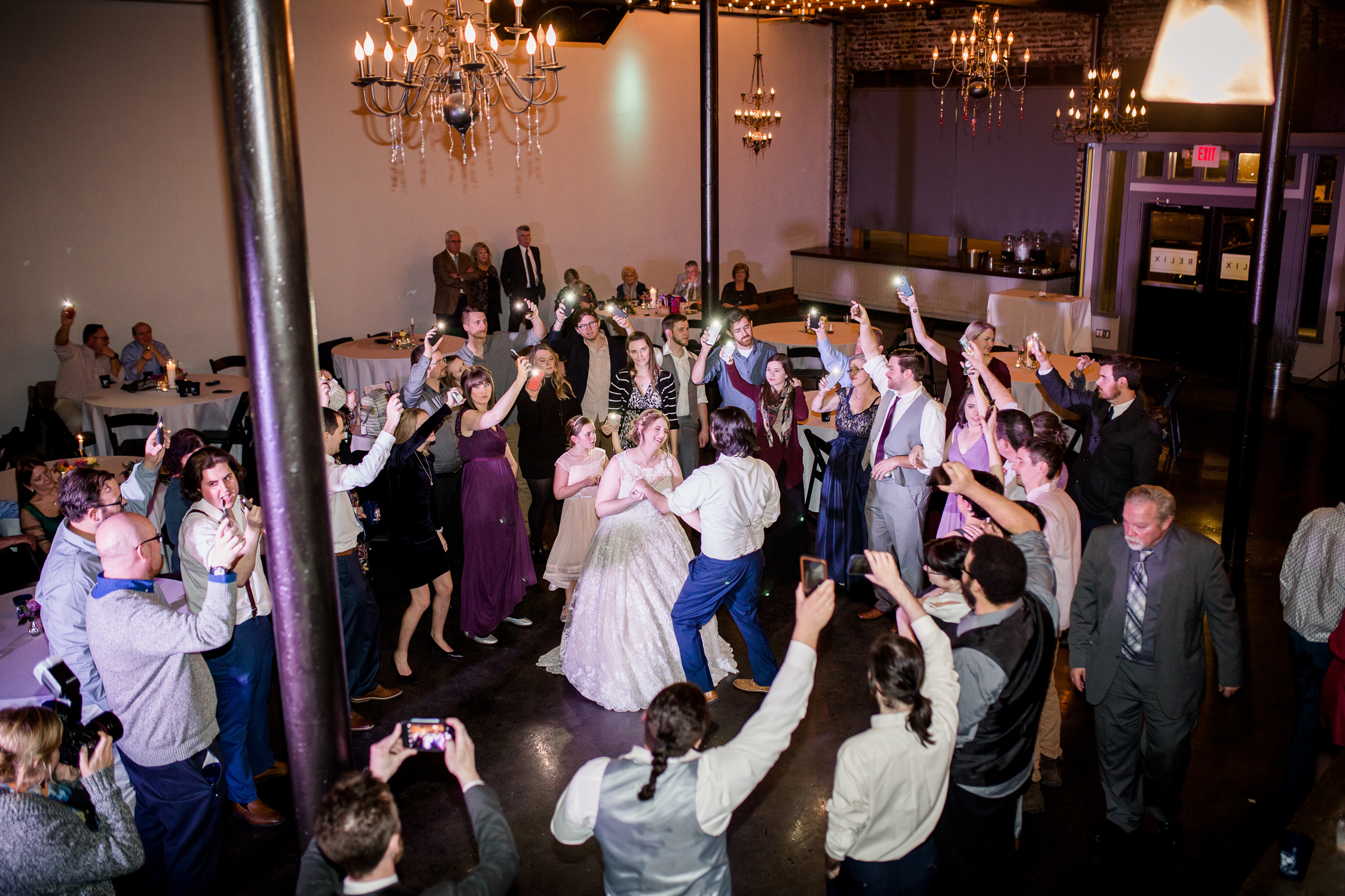 Downtown Knoxville Wedding Venue // Central Avenue Reception // Dancing