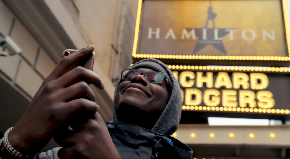 ENTERTAINment - We are the creators and maintainers of the mobile apps for the hit Broadway musical, Hamilton.