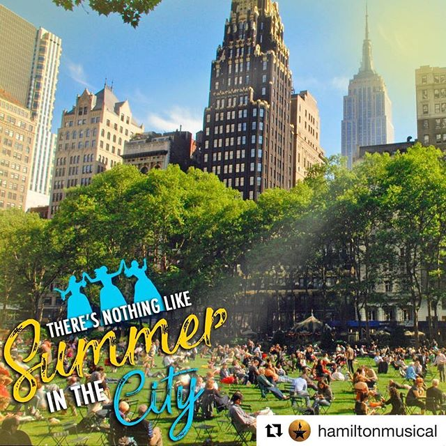 #Repost @hamiltonmusical ・・・ Soak in the last month of summer sun! Unlock a new special #HamCam filter on the #HamApp now.