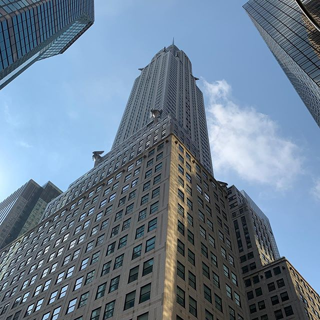 Big moment for us! This week we started in our new office in the #chryslerbuilding