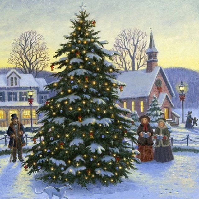 This week the town Christmas Tree is being decorated and lit for the holiday season. . Come and join the fun with free hot chocolate and cookies, the lighting of the tree outside, Santa inside for the kiddos with a gift, caroling, live nativity, a play and great fellowship! . Friday, 5:30pm at Capon Bridge Public Library . #visitcaponbridge #mywv #gotowv