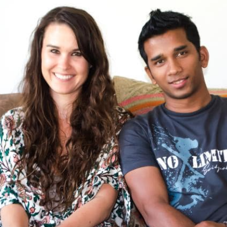 """Rachel and Arif,Daily Telegraph - When she saw an ad on Facebook calling for Australians to help, Rachel Browne thought, """"hell yeah"""".""""When I was in Australia I felt helpless about the refugees who were being put on an island in the middle of nowhere,"""" she said...Read More"""
