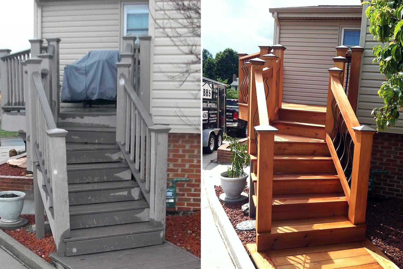 Fischer Deck Before & After