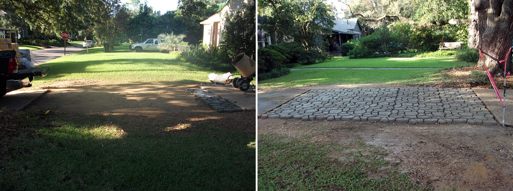 Driveway Before & After
