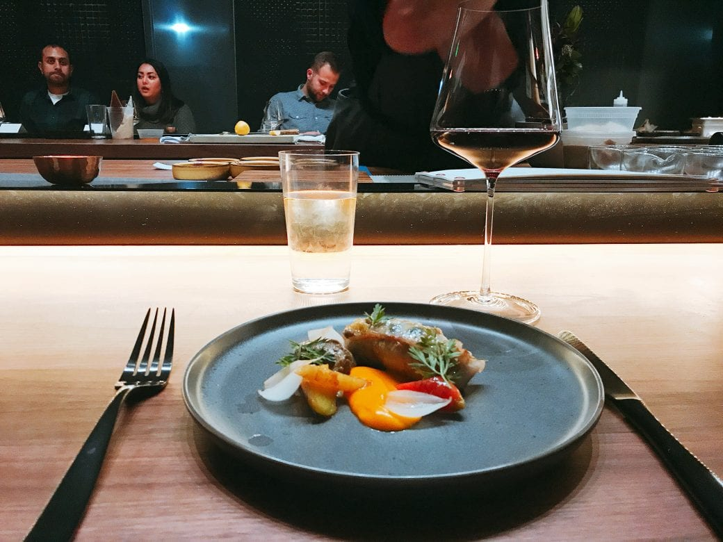 Denver Post | Beckon, by executive chef Duncan Holmes, finally opens next to Call in RiNo - Diners sit around the open kitchen and watch all of the eight courses being prepared right in front of them.