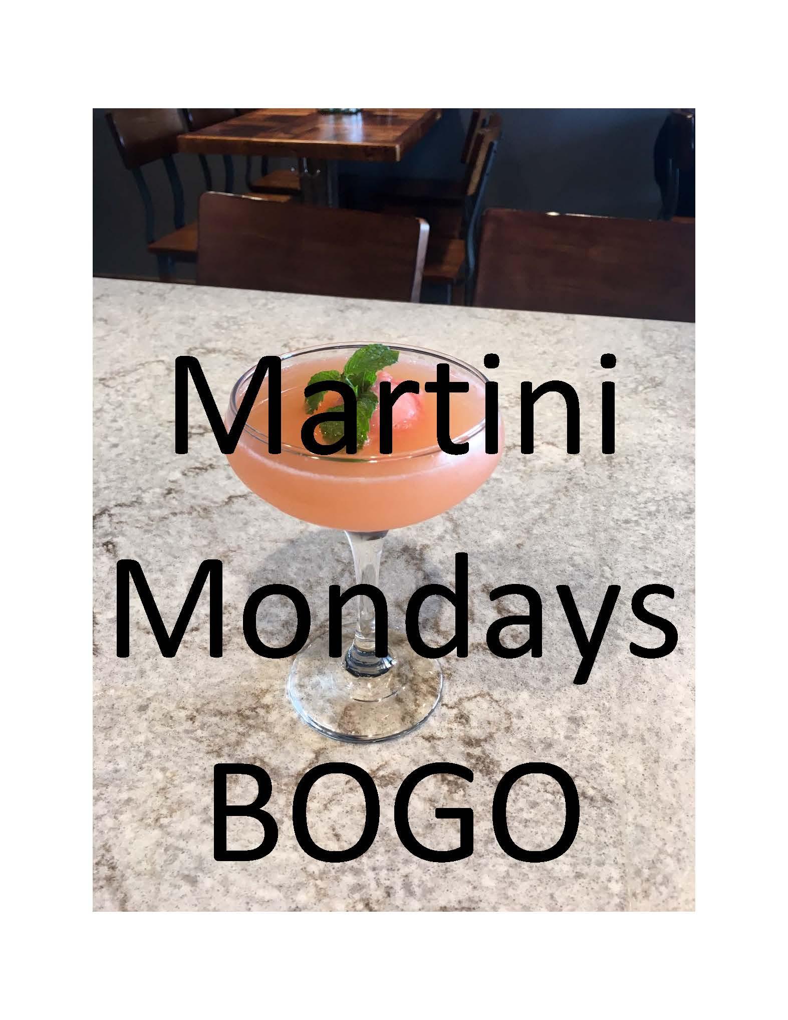 Martini Mondays BOGO - Poster.jpg
