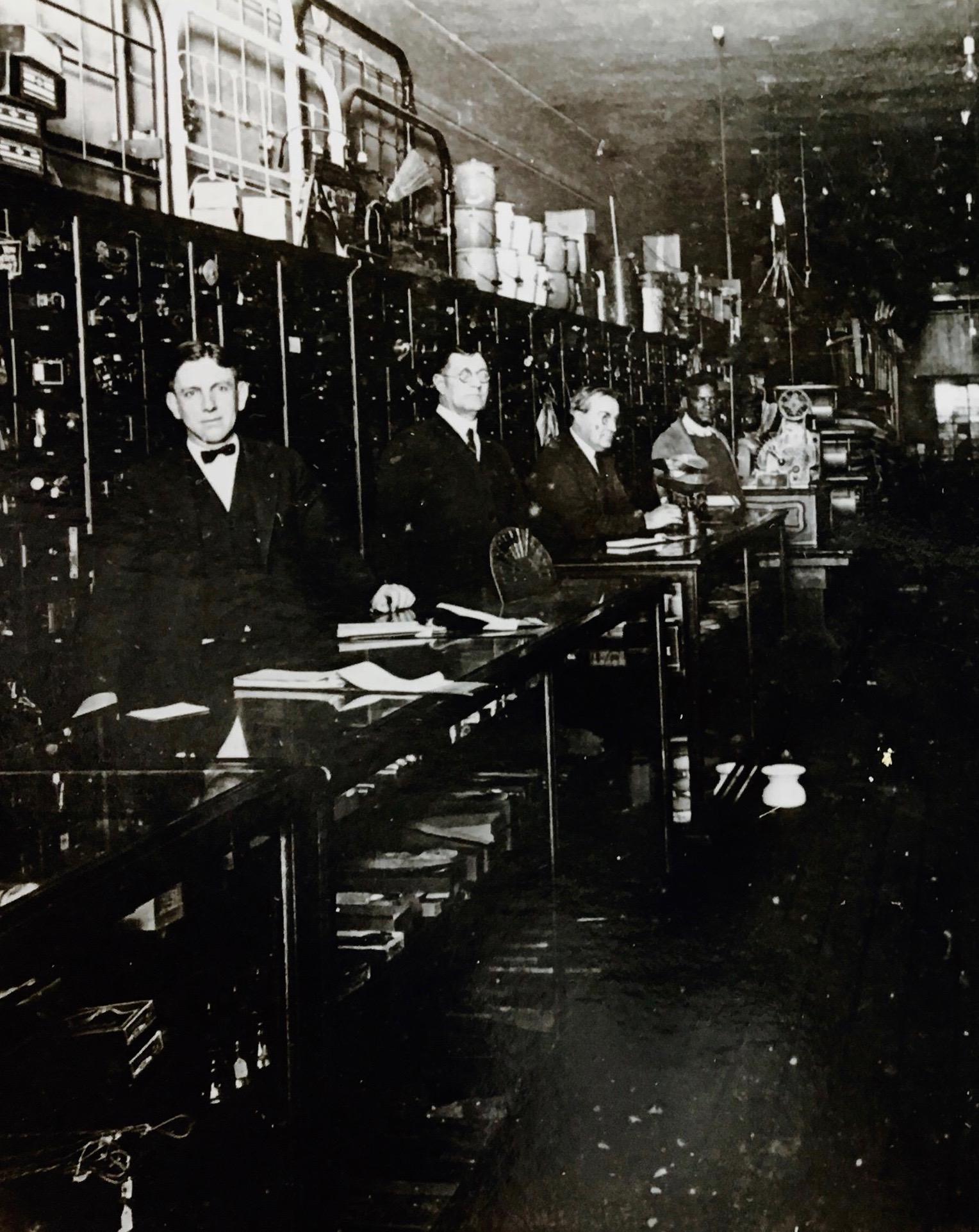 Brownsville TN Sternberger & Rainey Store, E Main 1922 FB.jpg