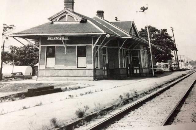 Brownsville LN Railroad Depot 1968