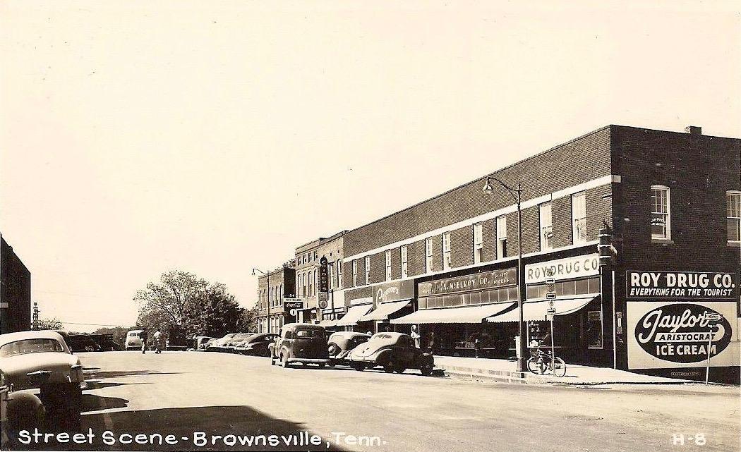 Brownsville Square - S Lafayette 1950's