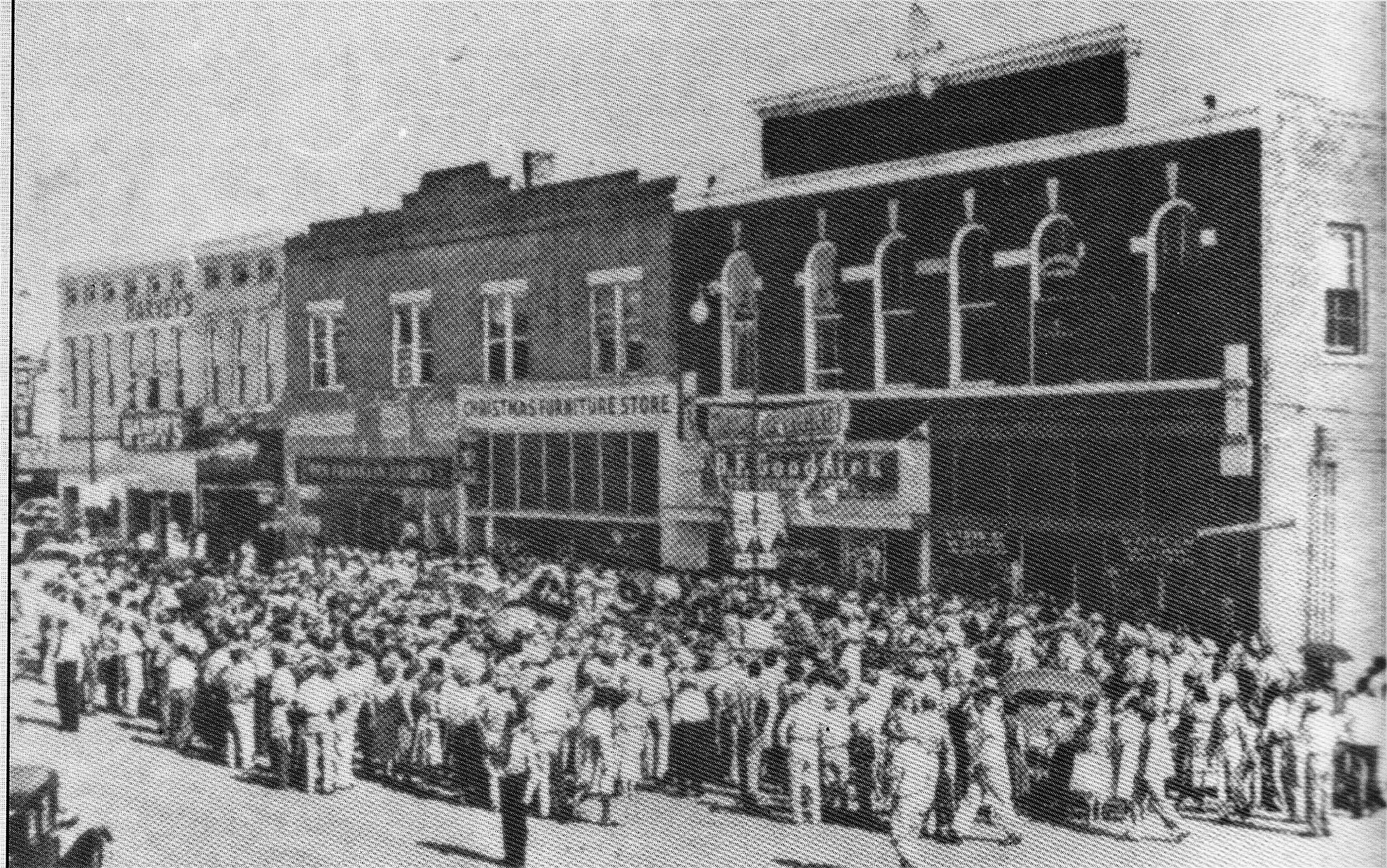 Brownsville TN - Economy Store Opening 1955