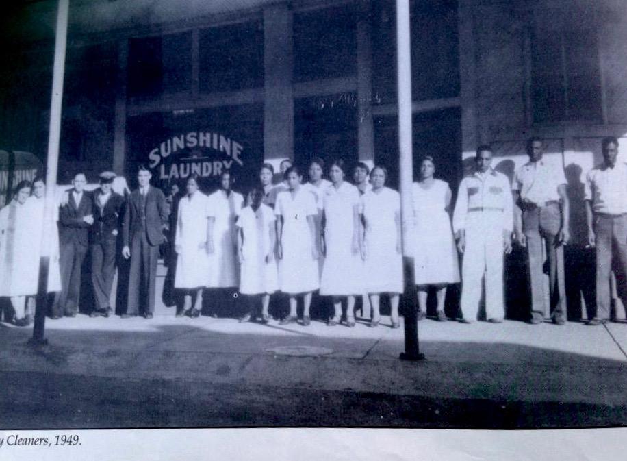 Brownsville, TN - Sunshine Laundry, 1949