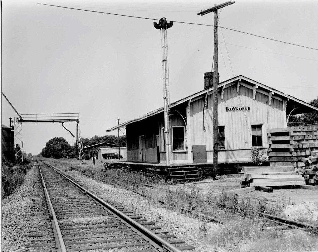 Stanton, TN - LN Railroad, 1968