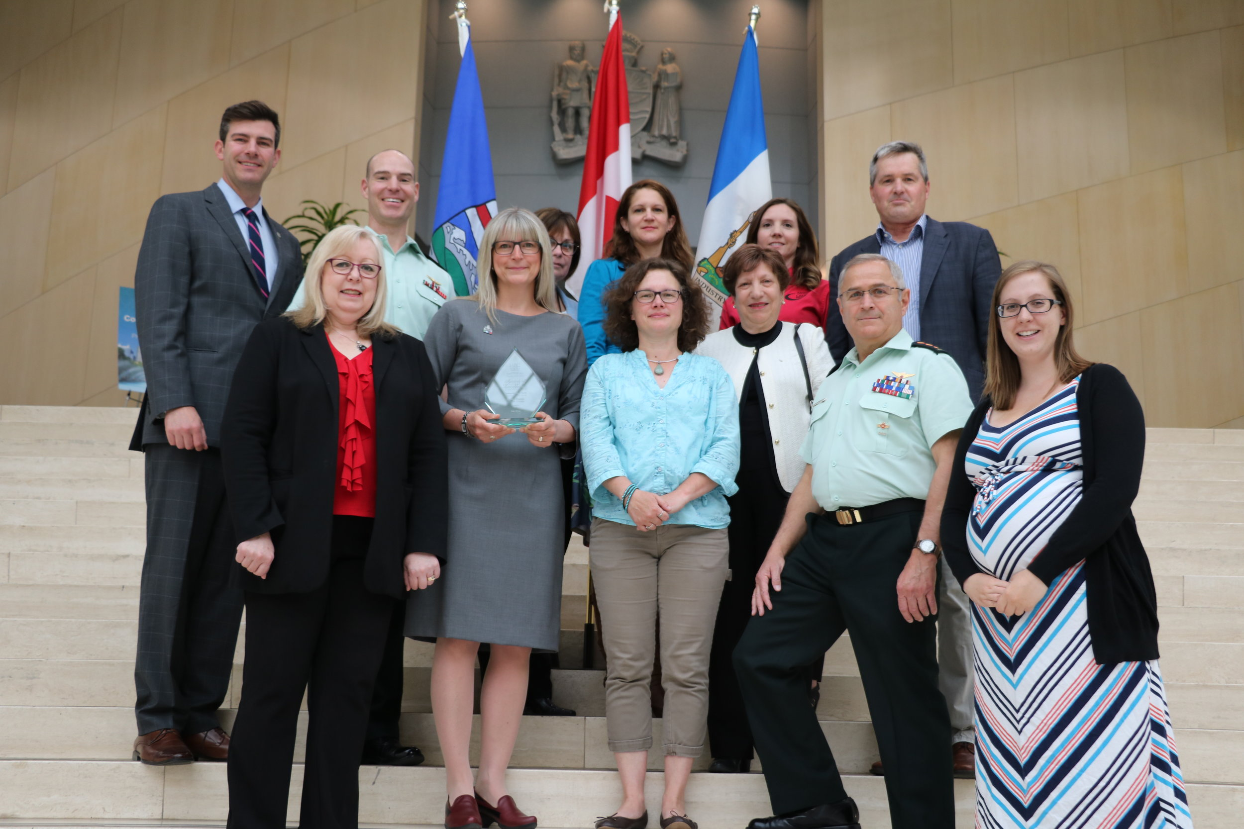 Vimy 100 YEG Committee and IABC Capital Award Recipients (1).JPG