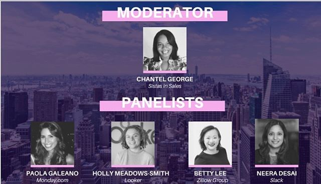 We are only a few hours away from #greatness. We built @sistasinsales to provide opportunity for #WOC that want to sell at the corporate & professional level. It's not too late to get involved tonight @pride_global #nycevents #sistasinsales #techsales