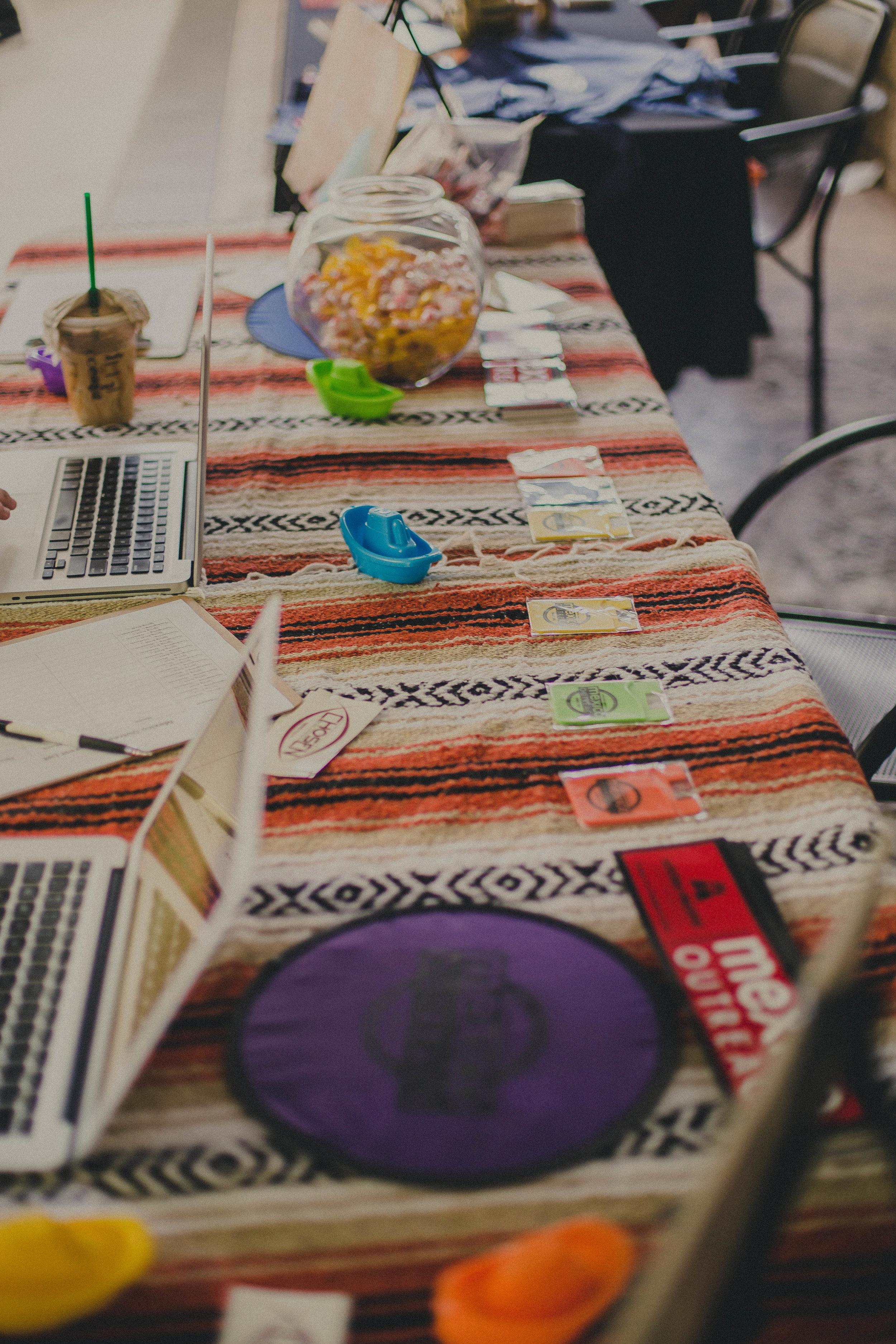 Mexico Outreach table