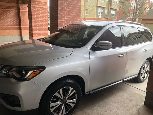 Always a pleasure meeting new customers, we did a full exterior on this 2017 pathfinder. Thank you Ayed for having us out today. (720)822-6324 for questions or appointments! #autodetailing #mobiledetailing #auroracolorado #denver #denvercolorado #colorado #lakewoodcolorado #wheatridgecolorado #englewoodcolorado #arvadacolorado #springcleaning #springbreak #spring #easter #detailersofinstagram #detailing @nissan