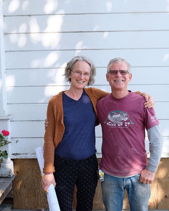 Love this picture of Sister and Brother team, Martha and Ben Jain. Martha is our Architect with a specialty in historic reservation and Ben is one of Lead Contractors. Talk about a stellar interconnected team!