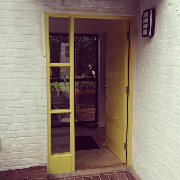 Oaklands Cottage front door